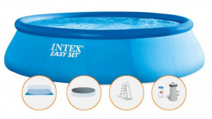 Bazén Intex Easy 457x107 SET s filtrací