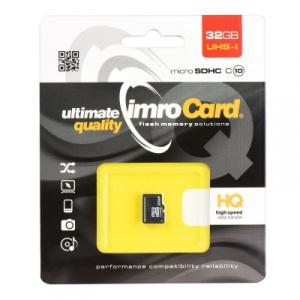 Paměťová karta micro SD IMRO 32GB Class 10 Blistr