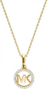 Stříbrný náhrdelník s třpytivým přívěskem MKC1108AN710