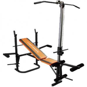 Posilovací lavice Fitness s klapkou LiveUP LS