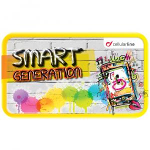 SMART GENERATION - grafika samolepící 20x30cm