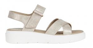 Dámské sandále D Tamas Lt Gold D02DLD-000PV-C2012