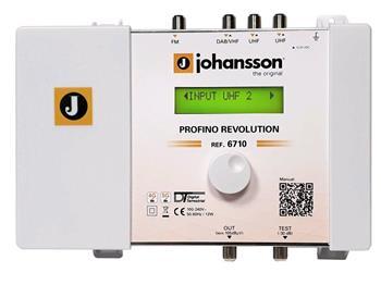 Johansson 6710 Revolution programovatelný zesilovač