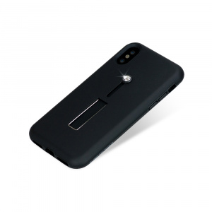 Zadní kryt Bling My Thing Selfie Loop Black Crystal pro Apple iPhone X/XS, krystaly Swarovski®
