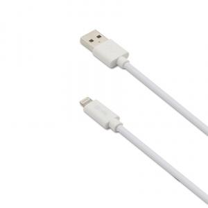 Datový USB kabel CELLY s Lightning konektorem, 3m, MFI certifikace, bílý