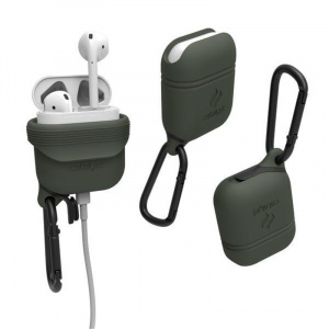 Catalyst Waterproof case, army green - AirPods