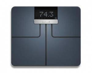 Váha osobní Garmin Index Black - chytrá váha (černá barva)
