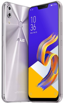 "ASUS Zenfone 5Z (ZS620KL-2H023EU) Silver - 6,2"", 8x 2,8GHz, 64GB/6GB, Android 8.0"