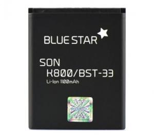 Baterie Blue Star pro SonyEricsson K800, W595, M600 (BST-33) 1100mAh Li-Ion Premium (Sony BA700)