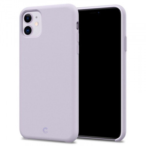 Spigen Ciel Silicone, lavender - iPhone 11