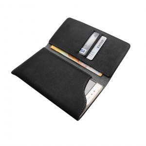 Kožené pouzdro FIXED Pocket Book pro Apple iPhone 6/6S/7/8, šedé