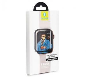 Tvrzené sklo Mr. Monkey pro Apple Watch 42mm Series1/2/3, černá