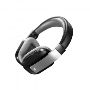 Bezdrátová sluchátka CELLULARLINE CONCILIO, AQL® certifikace, 40mm repro, univerzální ovládání, temně šedá