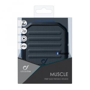 Bezdrátový reproduktor CELLULARLINE MUSCLE, AQL® certifikace, modrý