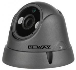 DI-WAY AHD anti-vandal venkovní dome IR kamera 720P, 3,6mm, 25m