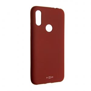 Zadní pogumovaný kryt FIXED Story pro Xiaomi Redmi 7, červený