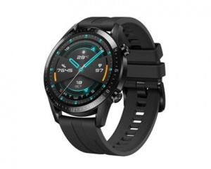 Hodinky Huawei Watch GT 2 Black Fluoroelastomer Strap