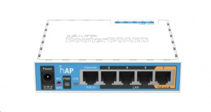 MikroTik hAP RB951Ui-2nD wireless AP pro domácnost a kancelář