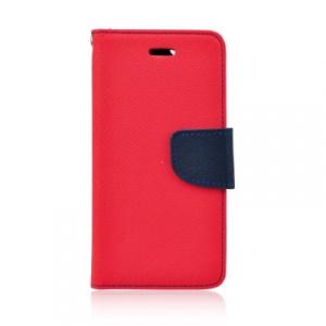 Pouzdro FANCY Diary Huawei P8 Lite (2017), P9 Lite (2017), Honor 8 Lite barva červená/modrá