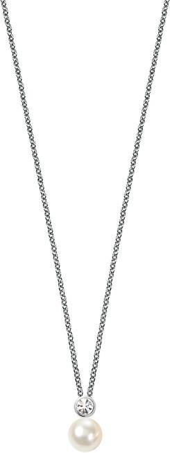 Stříbrný náhrdelník Perla SANH02 (řetízek, přívěsek)