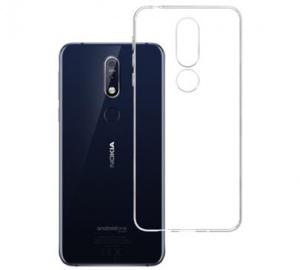 Kryt ochranný 3mk Clear Case pro Nokia 7.1 ,čirý
