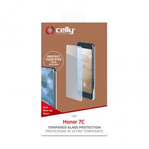 Ochranné tvrzené sklo CELLY Glass antiblueray pro Honor 7C