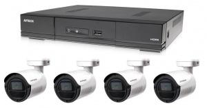 Kamerový set 1x AVTECH DVR DGD1005AV a 4x 2MPX Bullet kamera AVTECH DGC1105YFT + 2x napájecí zdroj!