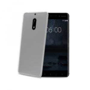 TPU pouzdro CELLY Gelskin pro Nokia 6, bezbarvé