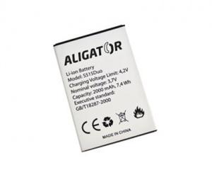 Baterie Aligator S515 Duo 2000 mAh Li-Ion
