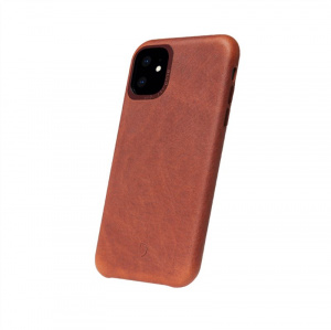 Decoded Leather Backcover, brown - iPhone 11