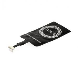 Adaptér bezdrátový, indukční s USB-C konektorem, černá