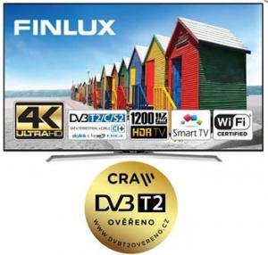 Finlux LED TV TV55FUC8160 - HDR UHD T2 SAT WIFI SKYLINK LIVE
