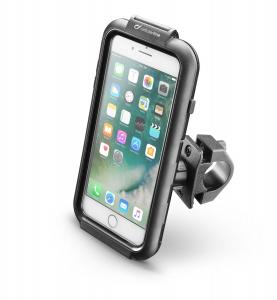 Voděodolné pouzdro Interphone pro Apple iPhone 8 Plus/7 Plus/6 Plus, úchyt na řídítka, černé