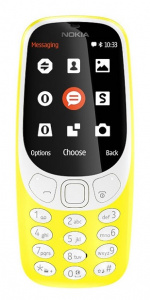 Nokia 3310 DS gsm tel. Yellow