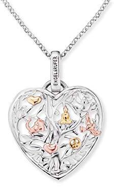 Stříbrný náhrdelník Srdce strom života ERN-HEARTTREE