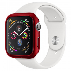Spigen Thin Fit, red - Apple Watch 6/SE/5/4 44mm