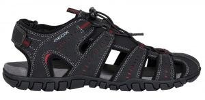 Pánské sandále U Sand.Mito Black U02Q2C-00050-C9999