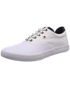 Pánské tenisky Hilfiger Oxford Sneaker White FM0FM01938-100