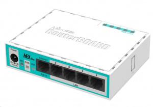 MikroTik hEX lite ethernet router