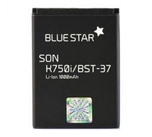 Baterie Blue Star pro SonyEricsson K750, W800i, W550 (BST-37) 1000mAh Li-Ion Premium