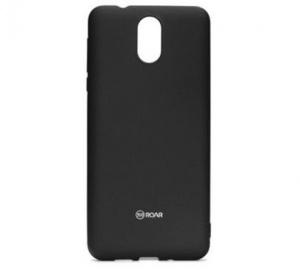 Kryt ochranný Roar Colorful Jelly pro Nokia 3.1, černá