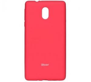 Kryt ochranný Roar Colorful Jelly pro Nokia 3, tmavě růžová