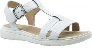 Dámské sandále D Sandal Hiver White D02GZB-00043-C1000