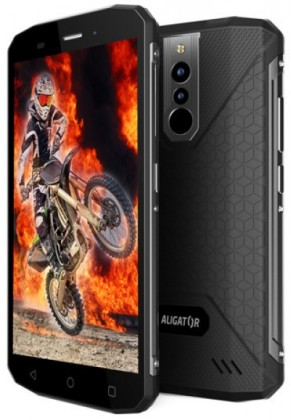 Aligátor RX600 eXtremo LTE Black (Dual SIM) vodě odolný IP68 + adapter CL (BONUS)