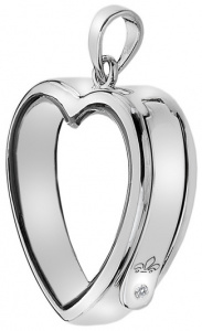 Přívěsek na elementy Anais Srdce s diamantem EX003