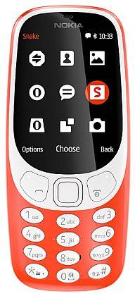 Nokia 3310 SS Red (singleSIM) 2017
