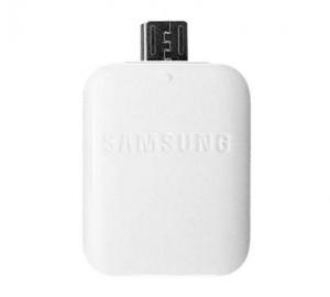 Adapter microUSB - OTG Samsung EE-UG930, bílá (BLISTR)