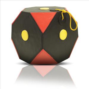 YATE Cube Polimix ČERNÁ-ČERVENÁ var.6