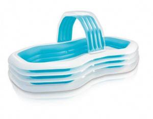 Bazén nafukovací INTEX 57198 Swim center Family Cabana 310x188x130 cm