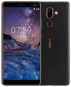 Nokia 7 Plus 2018 DS Black-Copper (dualSIM) 64GB/ 4GB Android 8.0